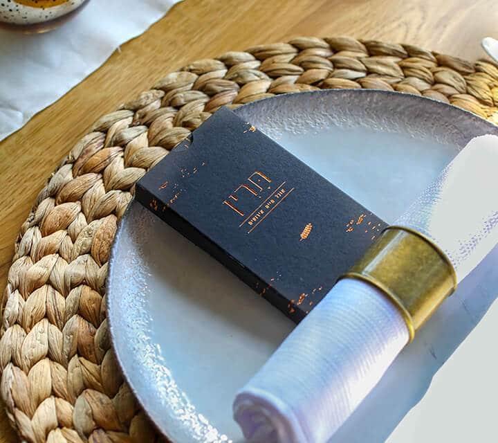עריכת שולחן חתונה