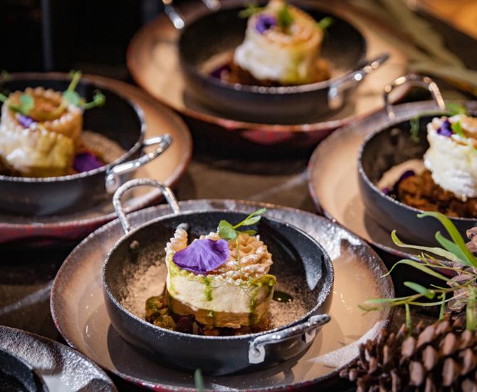 אוכל גורמה בתרין | גן אירועים בראשון לציון